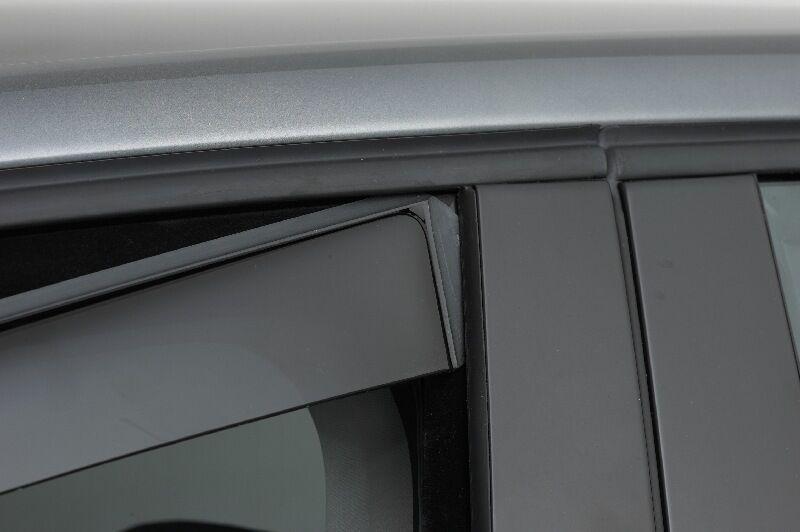 Climair Windabweiser Fiat Punto Evo 5 5 5 Türer Typ 199 ab 2009- mit ABE Tiefschwarz  |   7ec4b4