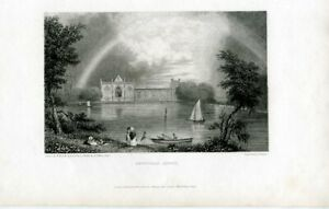 Newstead-Abbey-Engraved-By-E-Finden-Drew-W-Westall