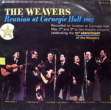 THE WEAVERS Reunion At Carnegie Hall 1963 LP
