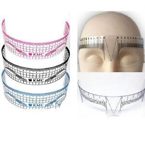 Reusable-Eyebrow-Stencil-Makeup-Microblading-Measure-Plastic-Tattoo-Ruler-bgLDUK