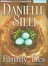 Family Ties ~  by Danielle Steel ~ audiobook on 9 CDs ~ unabridged