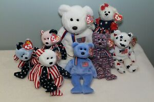 TY-Beanie-Babies-8-Patriotic-Collection