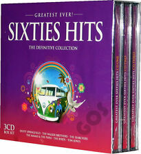 The Greatest Sixties Tracks 3 CD of 1960s Songs - All Original Music Recordings