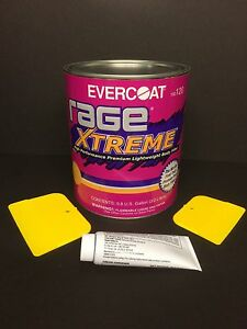 EVERCOAT RAGE EXTREME 120 PREMIUM LIGHTWEIGHT BODY FILLER + HARDENER & SPREADERS