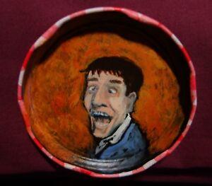 JERRY-LEWIS-Jam-Jar-Lid-Portrait-Comedian-Outsider-Folk-Art-by-PETER-ORR