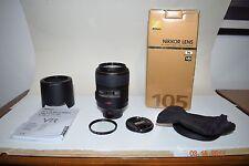 Nikon Micro 105 mm f/2.8G AF VR