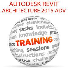 Autodesk REVIT ARCHITECTURE 2015 Advanced - Video Training Tutorial DVD