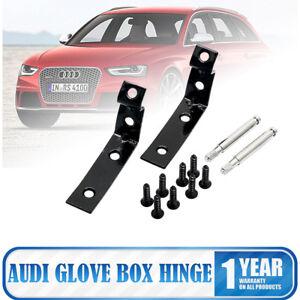 Para-Audi-A4-S4-RS4-B6-B7-8E-Tapa-de-Guantera-Bisagra-Roto-Reparacion-Kit
