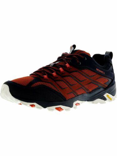 mesh and TPU print upper Merrell Men/'s Moab FST Hiking Shoe Leather