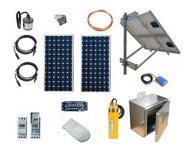 Solar Well Pump System - PV Powered Water Pumping Kit - SWPK2-Z34-200W-NOBATT