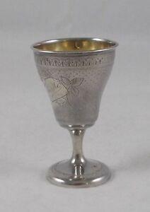 Eierbecher Hildesheimer Rose 800er Silber