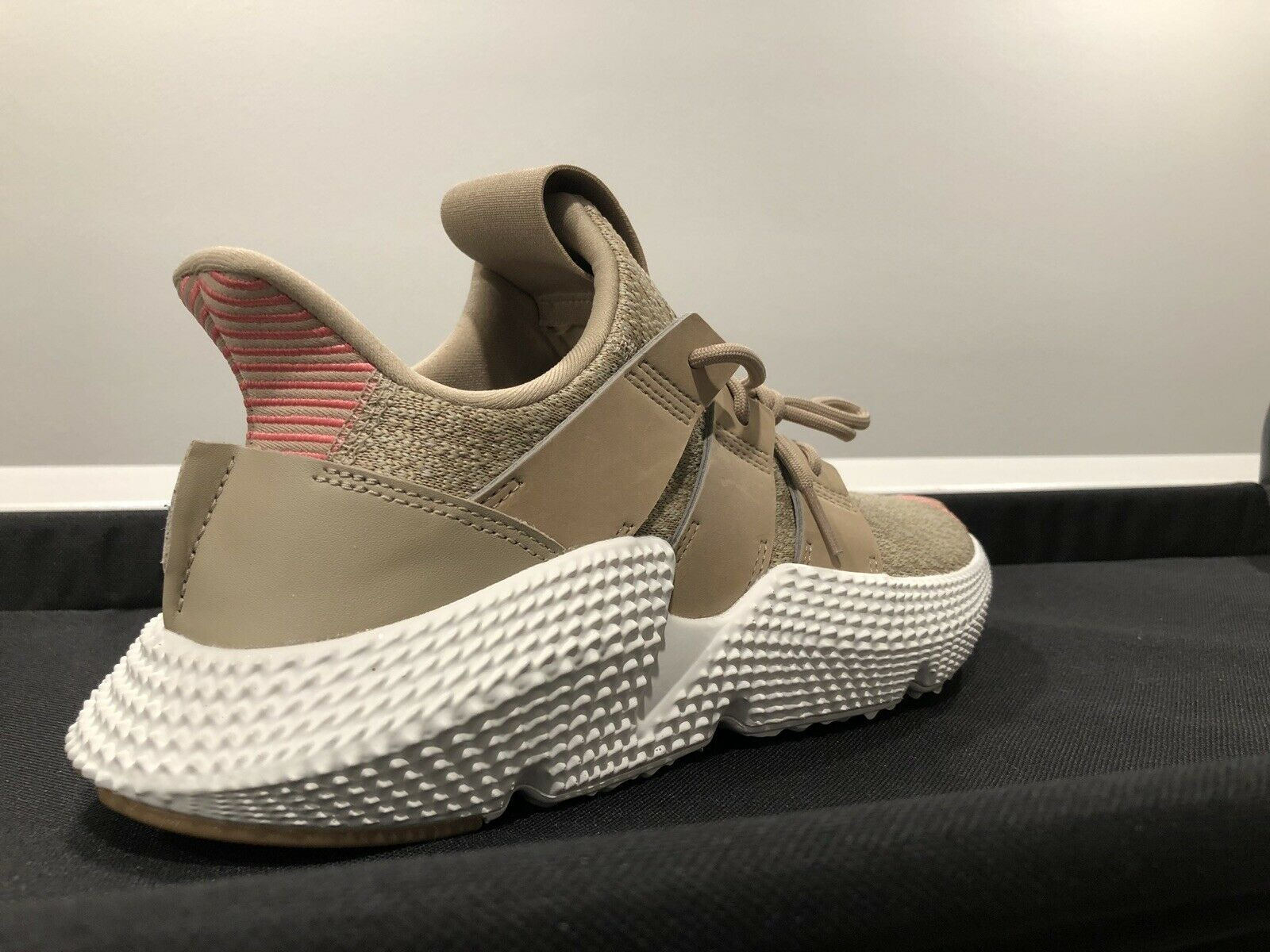 NEW Men's Adidas PROPHERE Sneakers Trace Khaki Chalk Pink CQ2128 Size 8 shoes
