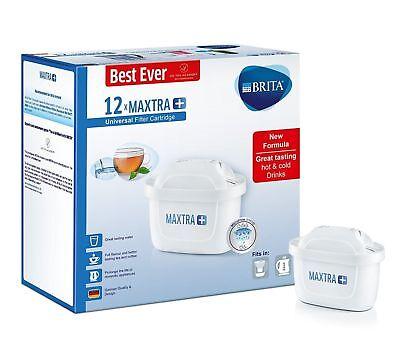 Caraffa Filtrante Acqua Plus Sostituzione Cartucce Ricariche Confezione da Regno Unito 6 X FILTRI BRITA MAXTRA