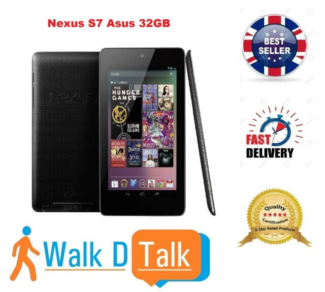 Asus Google Nexus 7 1st Generation 32gb Wi Fi 7 Inch Black For Sale Online Ebay