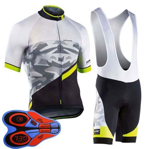 2019 Summer men cycling Jersey bib shorts set team bike clothing bicycle Outfits