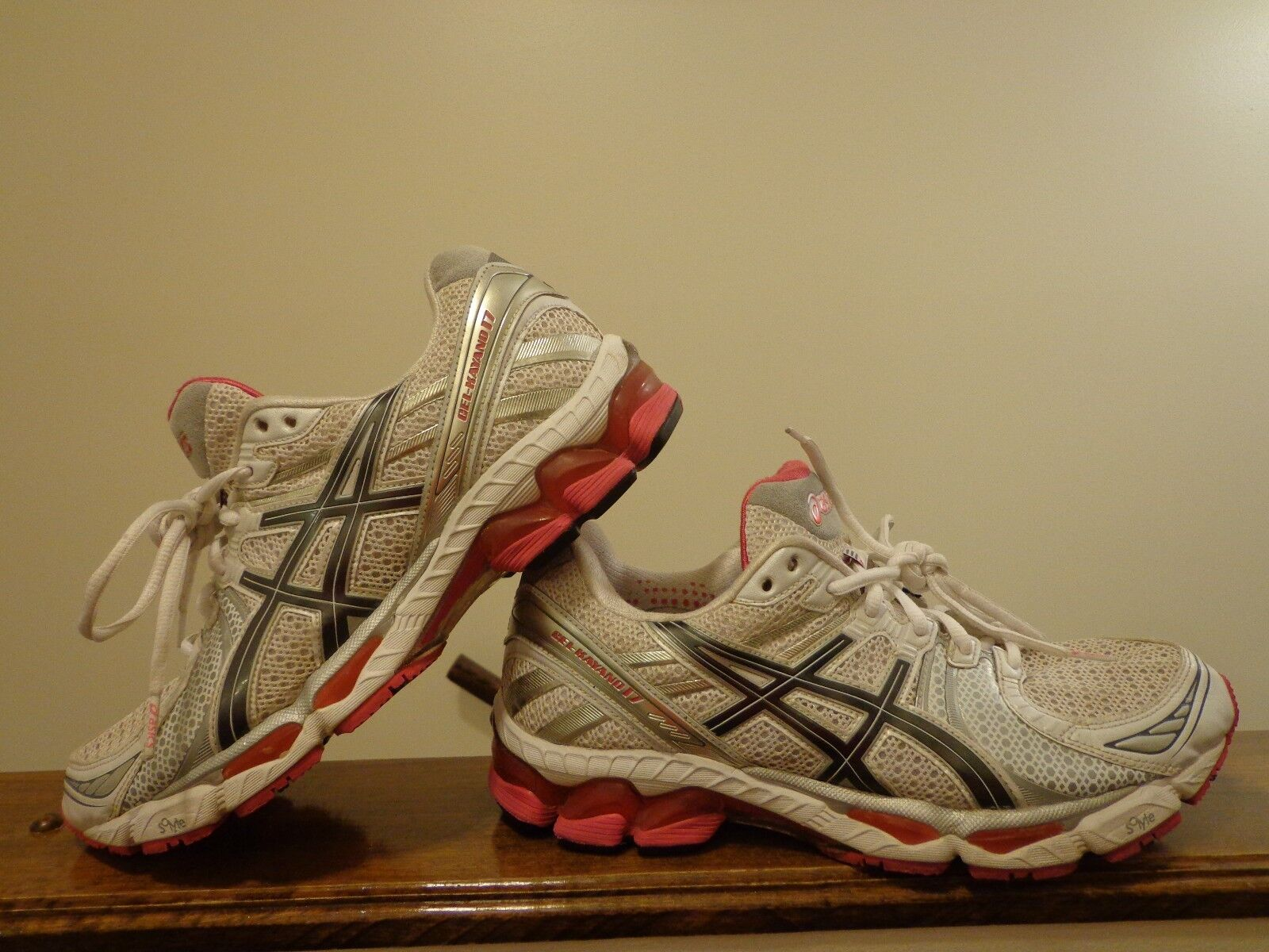 Asics Gel-Kayano 17 Athletic (T150N)  Women's shoes Multi-color Size 10
