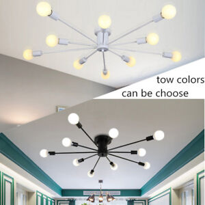 Modern Flush Mount Ceiling Light Kitchen Pendant Light Led Chandelier Lighting Ebay
