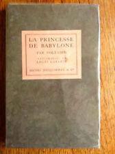 VOLTAIRE LA PRINCESSE DE BABYLONE Edition Originale  Illustrations de LATAPIE