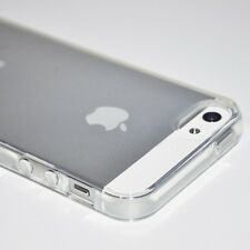 Crystal Clear Transparent Soft Silicon iPhone 5 case. New Free Screen Protector!