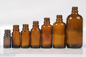 Braunglasflaschen-ab-5-ml-18-mm-Gewinde-ohne-Verschluss-Braunglas