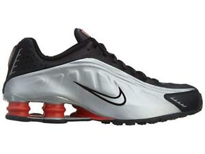 check out 65506 610c9 Image is loading Mens-Nike-Shox-R4-Premium-Sneakers-New-Silver-