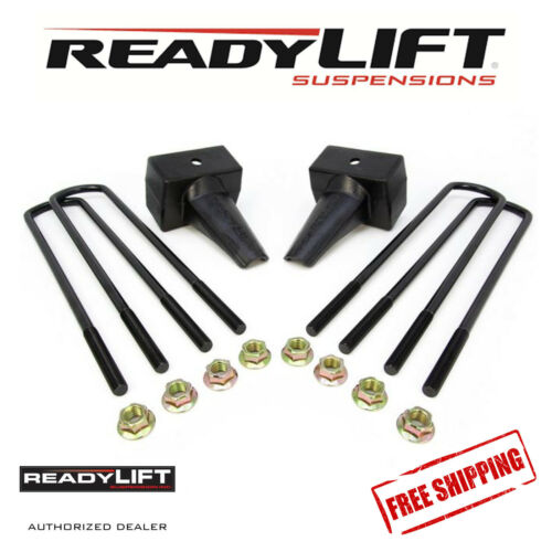 """Details about  /ReadyLIFT 4/"""" Block Kit Fits 1999-2010 Ford SuperDuty W// 1 Piece Drive Shaft"""