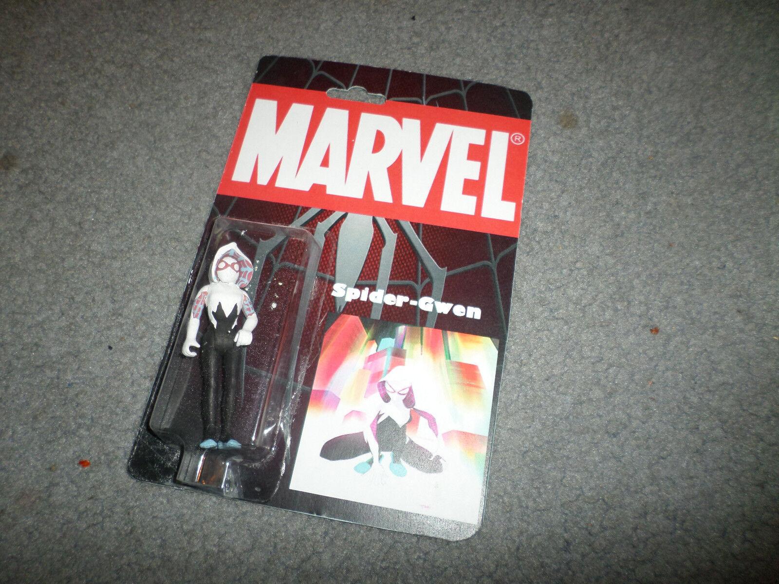 MARVEL SPIDER-Gwen Personalizado figura menta en tarjeta