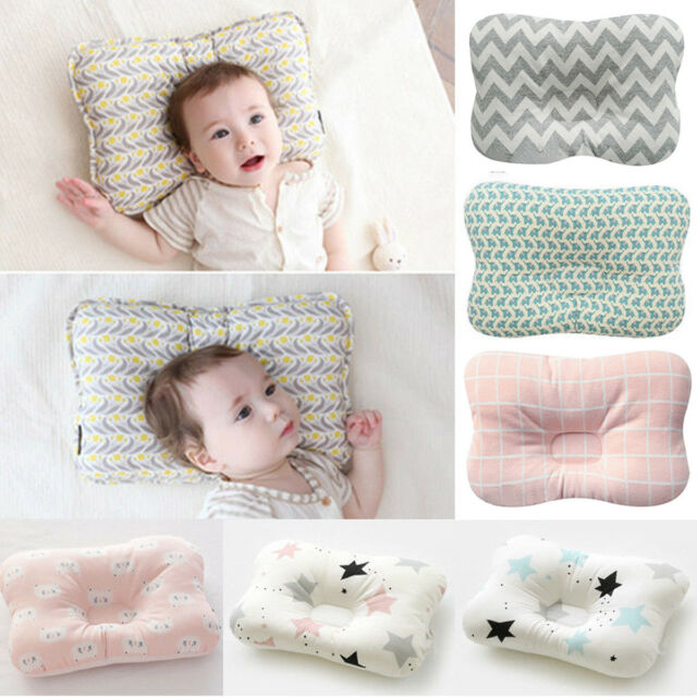 Baby Pillow for Newborn Organic Cotton
