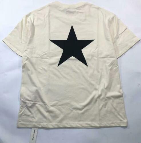 19 NEW MEN Fear of God Fog Essentials pentagram Stars short-sleeved t-shirts