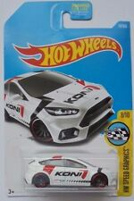 2017 Hot Wheels HW SPEED GRAPHICS 8/10 Ford Focus RS 79/365 (White Version)
