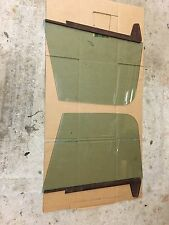 67 72 Chevy Truck C10 door glass  Green Tint RH LH Cheyenne CST C20