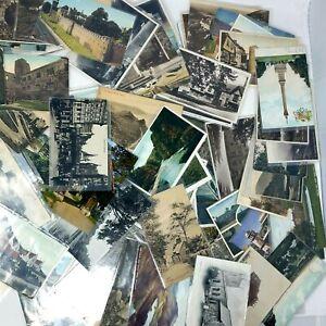 Junk-Drawer-Lot-Of-300-Antique-Ephemera-Postcards-International-Sleeved