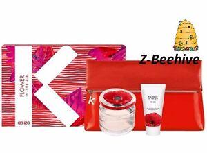 54634a6a Kenzo Flower in the Air Eau de Parfum 3 piece Gift Set SEALED ...
