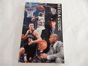 new concept 6e0d7 c400f Details about New Jersey Nets 2000-01 NBA MEDIA GUIDE!! NEW! NEVER OPENED!!