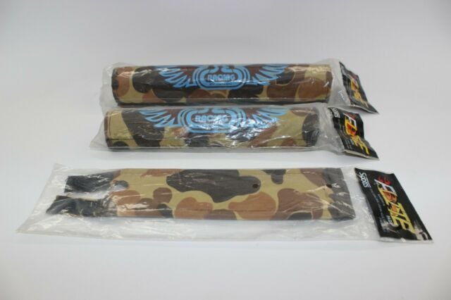 SE Racing PK Ripper decal set in brown with baby blue shadow Old school bmx