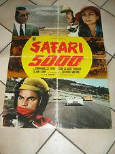 SOGGETTONE SAFARI 5000 TOSHIRO MIFUNE,A.cuny,E.riva auto car,RACING RACE