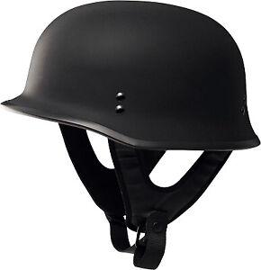 Fly-Racing-9MM-Half-Helmet-Solid-Colors-Flat-Black-F73-8221-5-XL