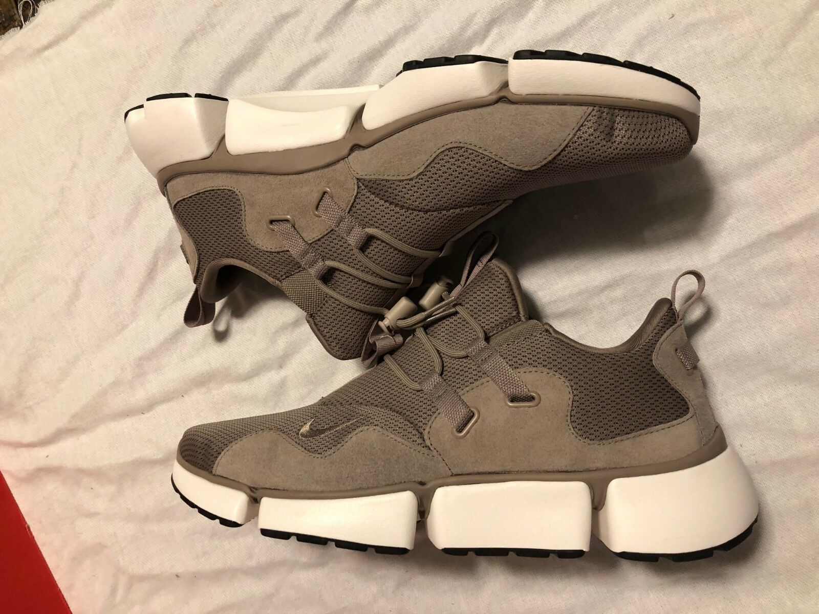 Men's Nike Pocketknife DM SE shoes Sepia Stone Sail SZ 14 918243 200 NO BOX LID