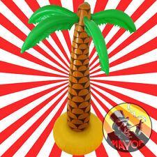"2x Inflatable Palm Tree 6ft 168cm 72/"" Luau Hawaiian Summer Party UK SLR"