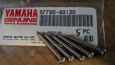 New NOS 80-10 Yamaha YT125 XC180 VX700 BR250 Panhead Screw 97780-40130 SET OF 5