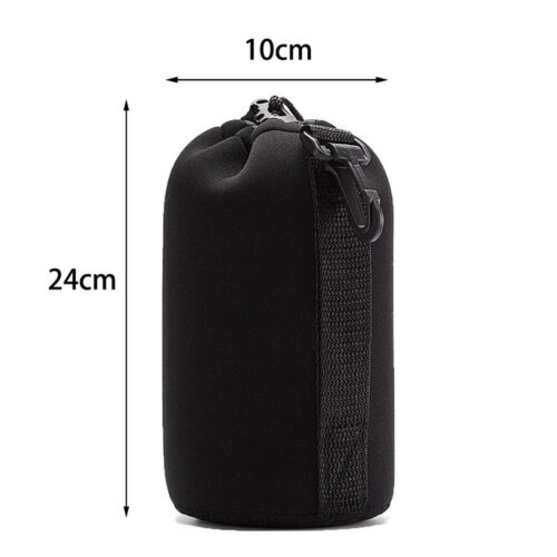 S//M//L//XL Neopren DSLR SLR Kamera Objektivtasche Tasche Beutel für Canon #wcl