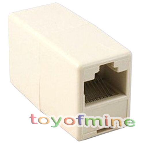 1 pc Newtwork Ethernet Lan Cable Joiner Coupler Connector RJ45 CAT 5 5E Extender