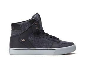 3fa3d810deb1 SUPRA VAIDER Men s Sneakers Fashion BLACK SPECKLE GREY S28247 ...