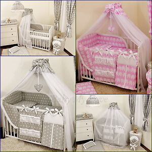 HOLDER//ROD STUNNING //BABY//COT//COTBED BIG CANOPY DRAPE//585cm wide