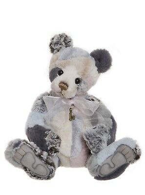 BRAND NEW WITH TAGS Charlie Bears TAGGLE Bear Extremely soft plush collection.