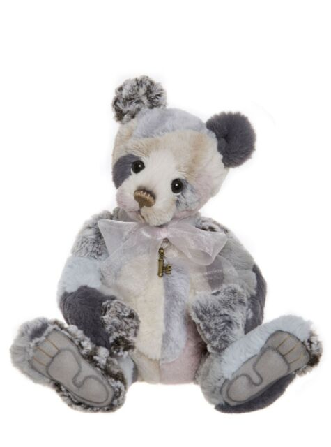 COLLECTABLE CHARLIE BEAR 2018 PLUSH COLLECTION -TAGGLE -GORGEOUS PATCHWORK PANDA