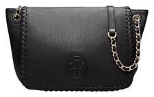 fbffec058b84 NWT Tory Burch Classic Marion Small Flap Leather Shoulder Bag Black MSRP   450