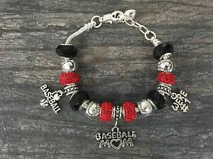 Image Is Loading Baseball Mom Bracelet Jewelry For Moms Perfect