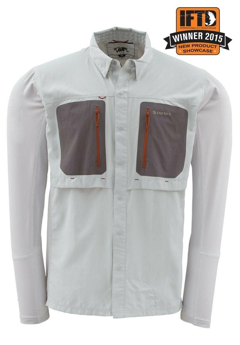 Simms GT TRICOMP Long Slieve Shirt grå NYA Storlek Medium
