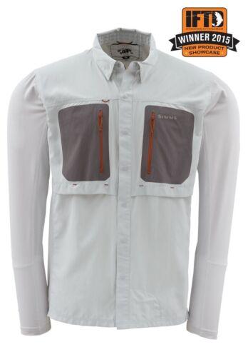 Simms GT TRICOMP Long Sleeve Shirt ~ Grey NEW ~ Closeout Size Medium
